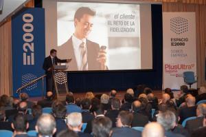 """Momento de la ponencia """"El Corredor de Seguros del Siglo XXI"""" - Hablamos sobre fidelización de clientes"""