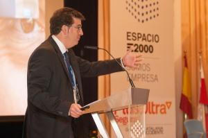 """Momento de la ponencia """"El Corredor de Seguros del Siglo XXI"""" - Hablamos sobre multicanalidad"""