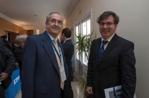 Con Florent Hillaure , Consejero Delegado de Plus Ultra