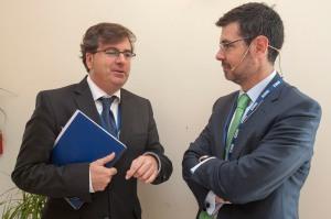 Con Raúl Casado, subdirector general de Ordenación de Mercado en la DGSFP